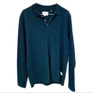 Five Four Long Sleeve Polo Style Shirt NWT
